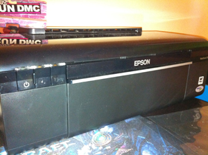 My Epson WorkForce 30 printer
